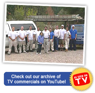 Vernazza House Painting Company employees - TV commericals on YouTube video!